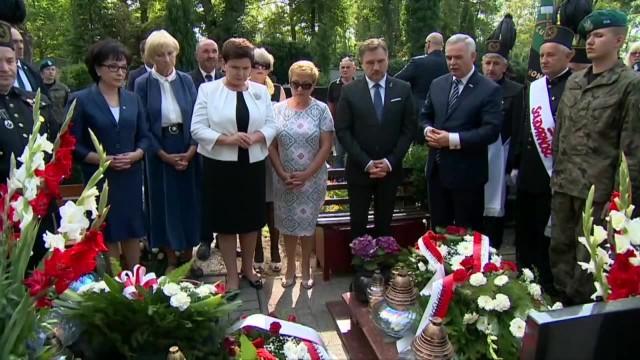 Wideo: Premier Beata Szydło na rocznicy Zbrodni Lubińskiej